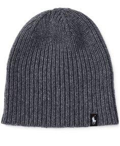 ed319e3ae53 Polo Ralph Lauren Men s Wool Knit Beanie Men - Hats