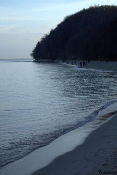 Gdynia - Plaża , morze i klif #Gdynia #Photography #ILovePhoto