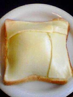 トースト チーズの貼り方꒡̈⃝ 写真 キャベツを千切り(もしくは荒みじん切り)にする ↑写真は外めの1枚。こんな山盛をペロッと食べれます♡60gでした 2 写真 キャベツに◎を絡め、マーガリン(必須)を塗ったパンにのせる ◎は60gに対しの量です。量に応じ増やして下さいね 3 写真 チーズ1枚をまず角に合わせてのせ2枚目は大きめ面積の所から、のせては折り切りのせては折り切り…写真参照。2枚でぴったり♡ 4 あとは通常より少し長めにトースト ※溶けないタイプのチーズの方が焼き色がつきやすく、上手くドームになります♪ 5 写真 時には半量キャベツを土手にして卵を割り、その上に残り半量キャベツをのせ、チーズで覆う♡オススメな1品 Brunch Recipes, Appetizer Recipes, Crockpot Recipes, Cooking Recipes, Cooking Bread, Homemade Sweets, Weird Food, Happy Foods, Asian Cooking