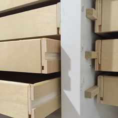 Poplar runner and drawer dado details. #drawers #cabinetry #sawdustgirl #buildlikeagirl