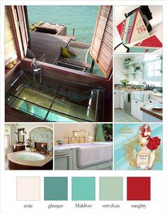 maldives color for accent wall? Aqua Color Schemes, Living Room Color Schemes, Living Room Colors, Color Combos, House Paint Interior, College Apartments, Color Harmony, Dorm Decorations, Color Inspiration