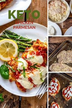 I really want to try new low carb Chicken recipes and this Keto Chicken Parmesan looks so good! I can't wait to cook this easy meal for my family.  It looks like the perfect keto family dinner recipe.  SO PINNING! #kickingcarbs #lowcarb #keto #lchf #ketorecipes #ketochicken Low Carb Chicken Recipes, Keto Chicken, Low Carb Recipes, Keto Holiday, Holiday Recipes, Chicken With Italian Seasoning, Lchf Diet, Easy Meals, Stuffed Peppers