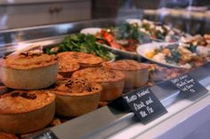 Finch House Pies served with Garden Herb Mash and Vegetarian Red Wine Gravy.