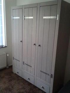 landelijke kledingkast more ideas for steigerhout kledingkast kamer ...