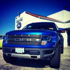 Blue Raptor + Blue So Cal Skies = #Raptor Rapture!  #ChinoHillsFord  #SoCalFordDealers