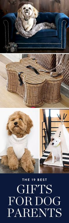 From sweaters to custom storybooks and everything in between, here's what you need to gift your pup-loving pals this holiday season. #puppies #dogs #doggifts #dogparents #holidaygifts