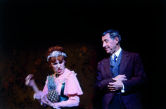 """Scene from the original play, """"Cabaret"""".  It was somewhat different from the famous movie as these two characters were rewritten almost entirely.  Cute, aren't they?"""