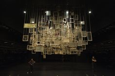 "stage design for ""Tattoo""  [New National Theatre Tokyo]  written by Dea Loher, directed by Toshiki Okada"