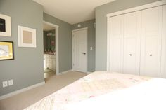 Interior Doors | matching white molded bedroom doors with simple door toppers | Bayer Built Woodworks