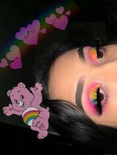 riveraa - Lidschatten - Make-Up Makeup Eye Looks, Eye Makeup Art, Colorful Eye Makeup, Crazy Makeup, Cute Makeup, Glam Makeup, Gorgeous Makeup, Skin Makeup, Eye Art