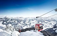 Located 95 km from Innsbruck, Kitzbuehel boasts a 120-year-old skiing tradition and features 170 km ... - Provided by AFPRelaxNews