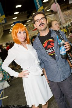 Claire Dearing and Lowery Cruthers