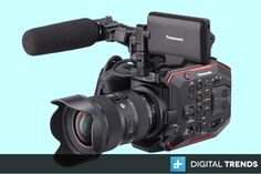 Panasonic unveils its new compact cinema camera, the with a newly-designed Super sensor. Camcorder, Compact, Dolby Audio, Carte Sd, Cinema Camera, Camera Gear, Best Camera, Videography, Filmmaking