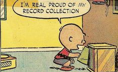Charlie brown peanuts record comics