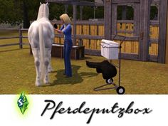 Horses plaster box by bobo at Sims 3 Community - Sims 3 Finds