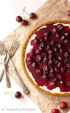 No Bake Cherry Delight Cheesecake