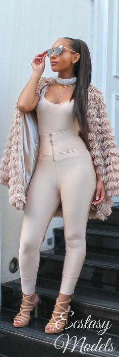 Nude Tones // Fashion Look by Princess Zeena Xena