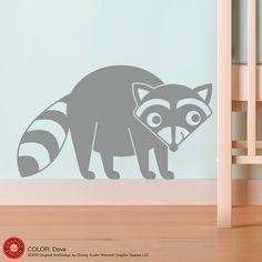 Raccoon Wall Decal