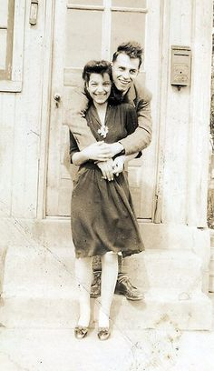 """Mom and Dad, 1943"""