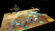 Dinosaur Bones Unearthed at Interactive Digital Fossil Dig Site