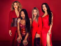 FAVORITE MUSIC GROUP WINNER-NICKELODEON Kids Music Awards 2018-Fifth Harmony is an American girl group based in Miami, composed of Ally Brooke, Normani, Dinah Jane, Lauren Jauregui, and previously Camila Cabello until her departure from the group on December 18, 2016.