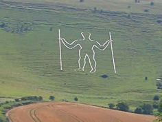 Dessertpin - Long Man of Wilmington, a chalk hill carving, circa century. Great Places, Places To Go, Beautiful Places, Tarot, Chalk Hill, Caravan Holiday, Cycle Ride, White Horses, East Sussex