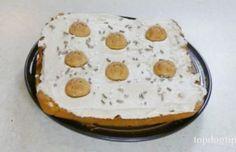 Recipe: Healthy Dog Cake with Peanut Butter Dog Safe Cake Recipe, Dog Cake Recipes, Peanut Butter Recipes, Dog Food Recipes, Fondant Flower Cake, Fondant Cakes, Fondant Rose, Fondant Baby, Fondant Figures