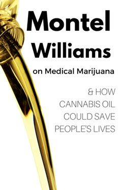Montel Williams joined in the discussion on The Dr Oz Show about the legalization of medical marijuana and how cannabis oil can literally save lives.