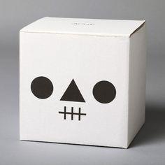 Skull in a box