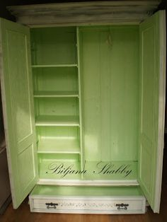 French Hand Painted Armoire - Inspiration.