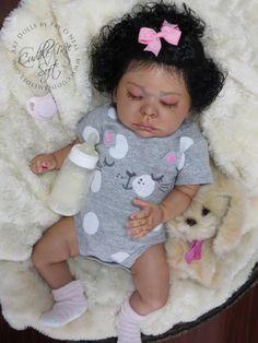Kaylee Reborn Baby Girl for sale - Lee Lee by Laura Tuzio Ross Reborn Dolls For Sale, Baby Dolls For Sale, Life Like Baby Dolls, Life Like Babies, Reborn Toddler Dolls, Newborn Baby Dolls, Reborn Babies Black, Reborn Baby Girl, Baby Girl Dolls