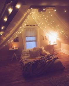 Pin On Cool Bedroom Teenage bedroom lighting ideas