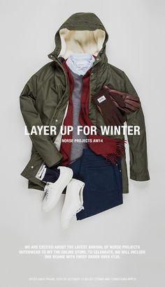 LAYER UP FOR WINTER WITH NORSE PROJECTS