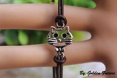 The cute cat braceletthe sweet cat braceletthe by GoldenFuture, $2.99