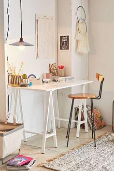 Elsa Sawhorse Desk - Urban Outfitters
