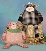 Cotton Ginny's Chickens, Cows & Pigs Patterns
