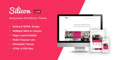 Silicon - Responsive WordPress Theme - ThemeForest Item for Sale #wordpress #wordpressthemes #wordpresstips