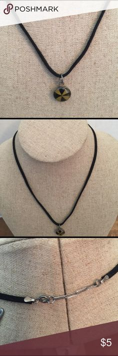 💫Necklace Sterling silver solid 925 and leather Necklace Sterling silver solid 925 and leather 💫 Jewelry Necklaces