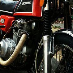 CB200 exhaust