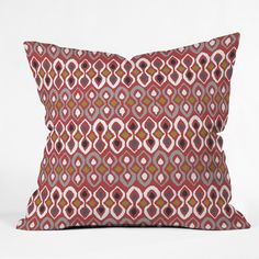 Sharon Turner Chilli Pestle Throw Pillow | DENY Designs Home Accessories