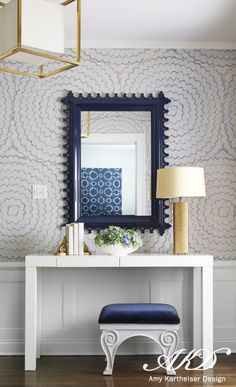 An oomph Newport Mirror. Winnetka « Amy Kartheiser Design