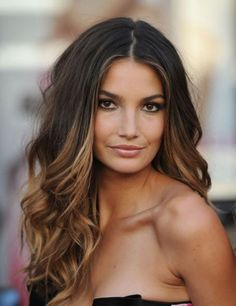 Ombre Hair-@Lindsey James- this is a good one. I'll take her hair, face AND body, please