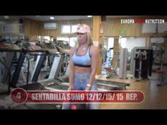 rutina de ejercicios piernas y gluteos rosane camilo Biceps Femoral, Muscle, Gym, Diet, Youtube, Sports, Squats, Routine, Pull Up