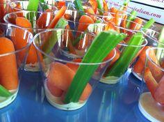 Veggies for Kids: Cute serving idea!