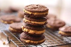 Fluffy peanut butter cream sandwiched between dark chocolate sandwich cookies turned out to be an awesome idea. There is just something irresistible about the combination of peanut butter and chocolate.Luckily, I was smart enough to make these, sample one and immediately send them away from my house. There would have been no self control involvedRead More