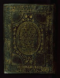 Book of Hours of the family de la Porte, Binding, Walters Manuscript W.433, lower board outside
