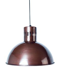 Anders Burnished Copper Pendant