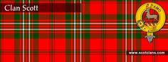 Clan Scott Tartan and Crest
