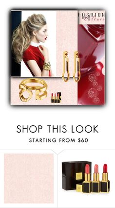 """""""Red"""" by fl4u ❤ liked on Polyvore featuring Beacon, Louis Vuitton and Tom Ford"""