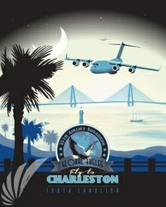 charleston-15th-airlift-squadron-military-aviation-poster-art-print